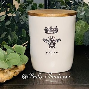 💗🐝RAE DUNN {QUEEN} Kitchen Food Cellar Canister!